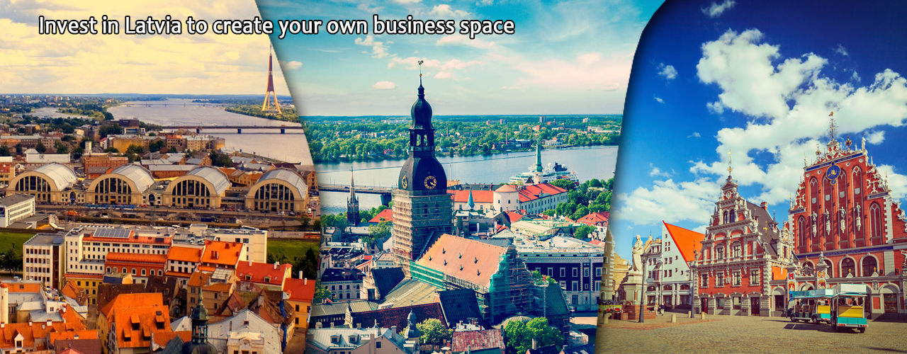 Invest in Latvia to create your own business space.