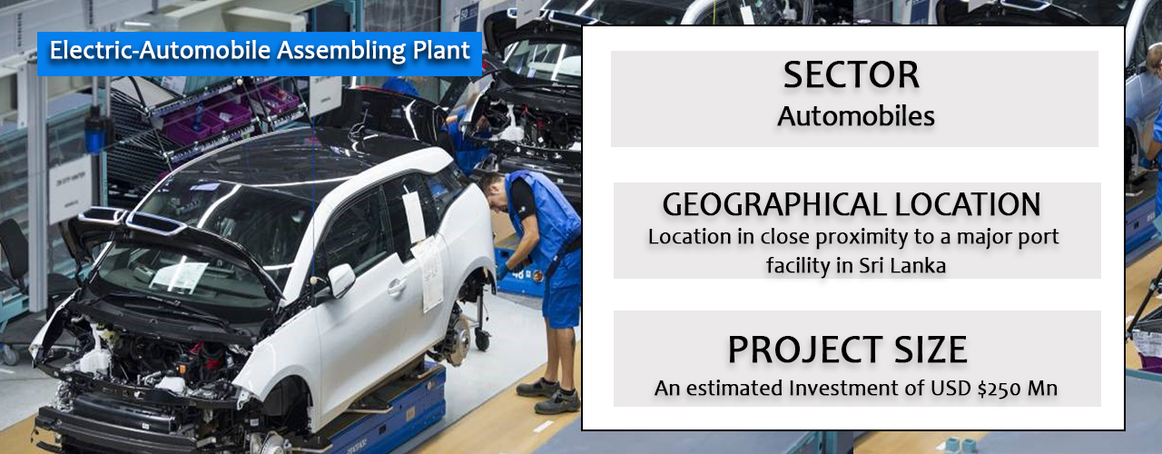 Electric-Automobile Assembling Plant