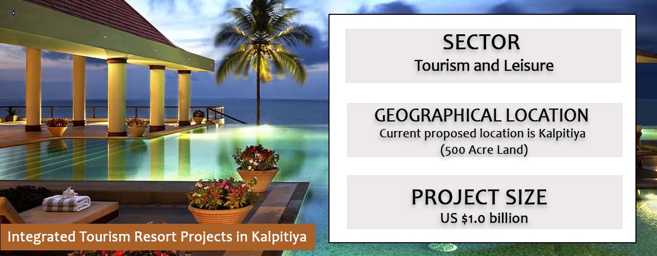 Integrated Tourism Resort Projects in Kalpitiya