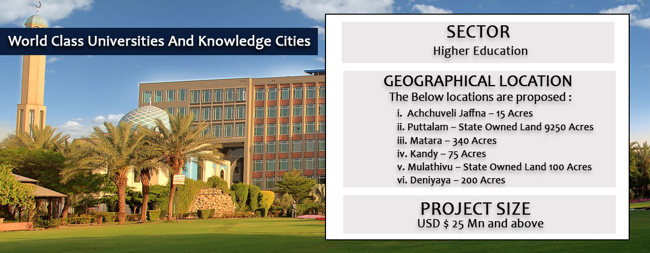 World Class Universities And Knowledge Cities