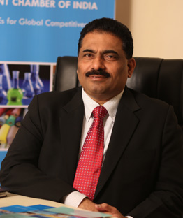 Mr.Chandrakant Salunkhe. Founder and President, SME Chamber of India.