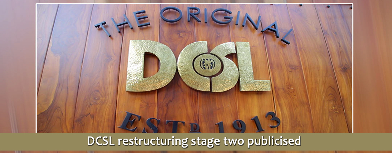 DCSL restructuring stage two publicised