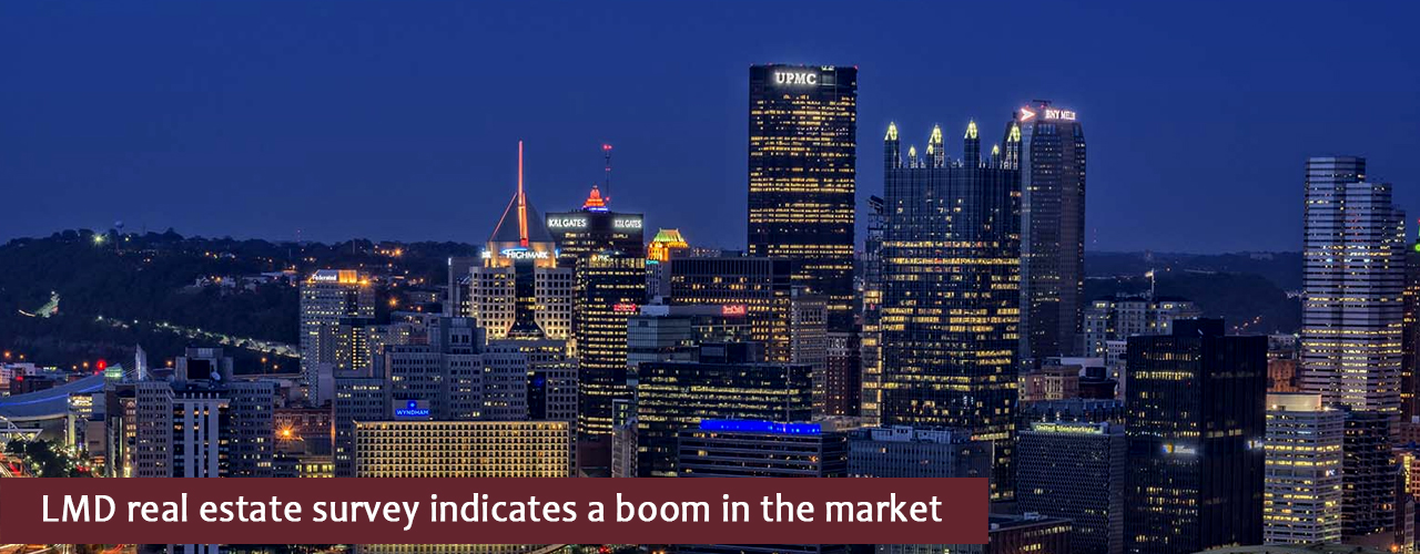 LMD real estate survey indicates a boom in the market