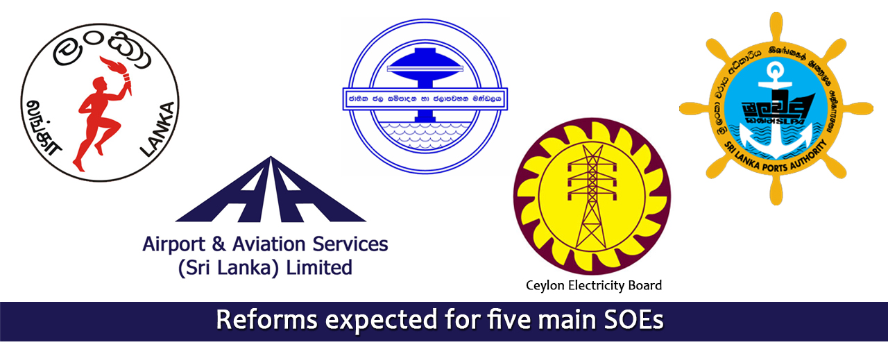 Reforms expected for five main SOEs