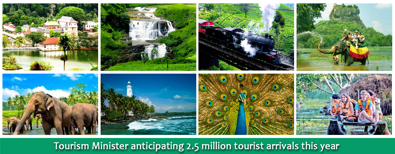Tourism Minister anticipating 2.5 million tourist arrivals this year