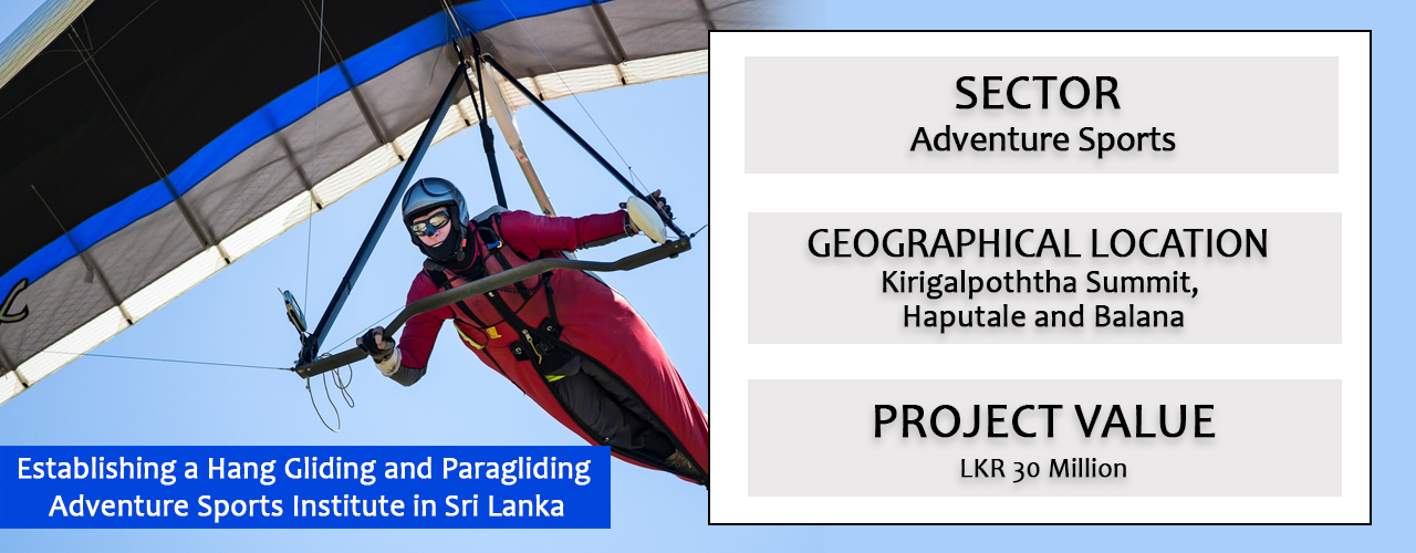 Establishing a Hang Gliding and Paragliding Adventure Sports Institute in Sri Lanka