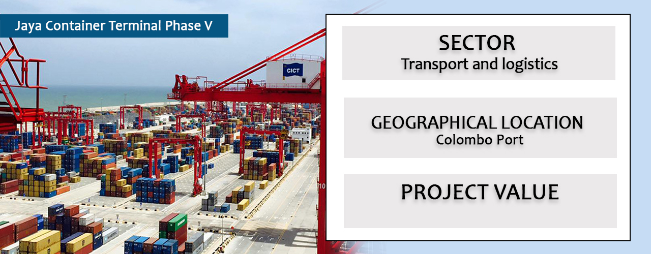 Jaya Container Terminal Phase V
