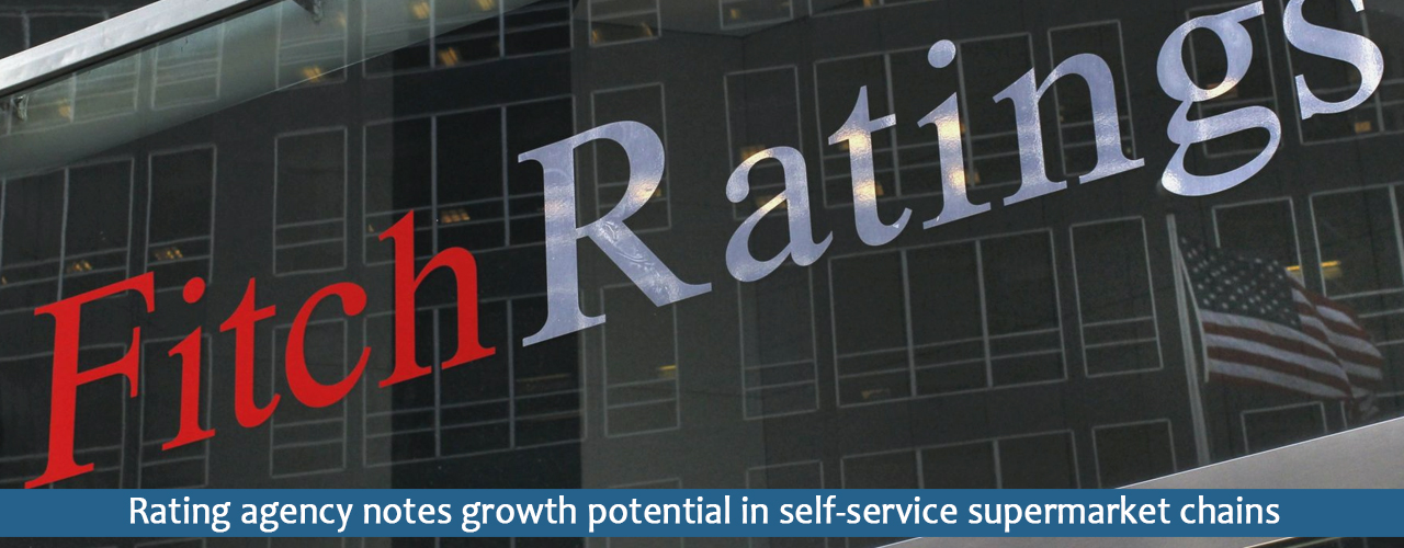 Rating agency notes growth potential in self-service supermarket chains