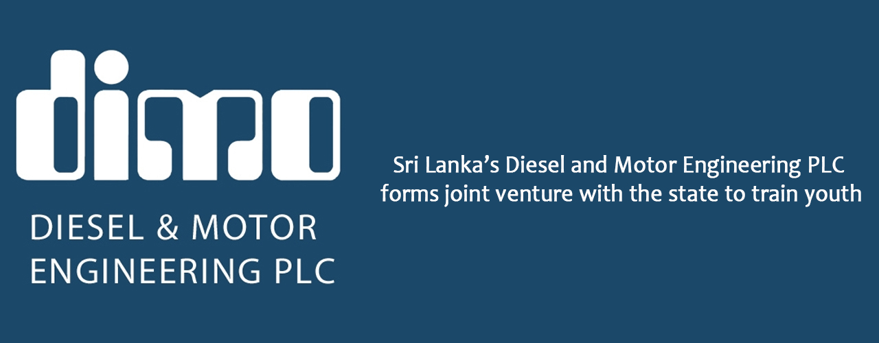 Sri Lanka's Diesel and Motor Engineering PLC forms joint venture with the state to train youth