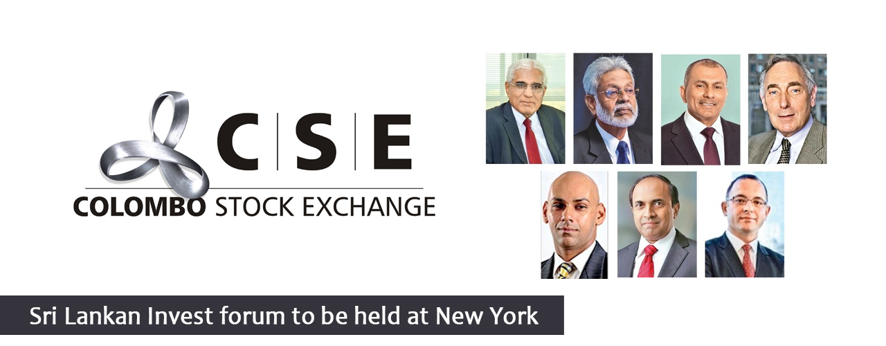 Sri Lankan Invest forum to be held at New York
