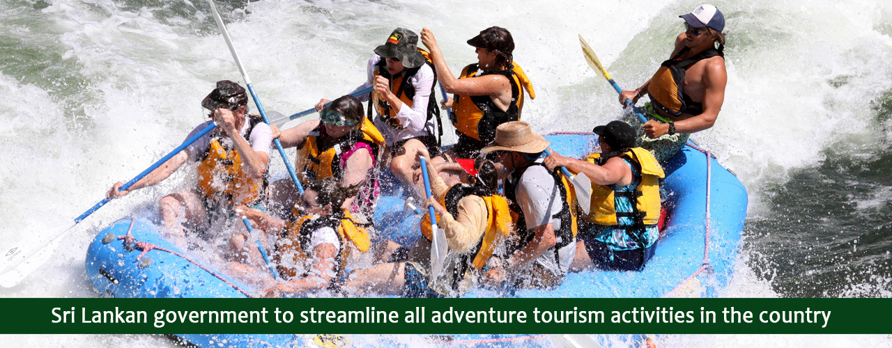 Sri Lankan government to streamline all adventure tourism activities in the country