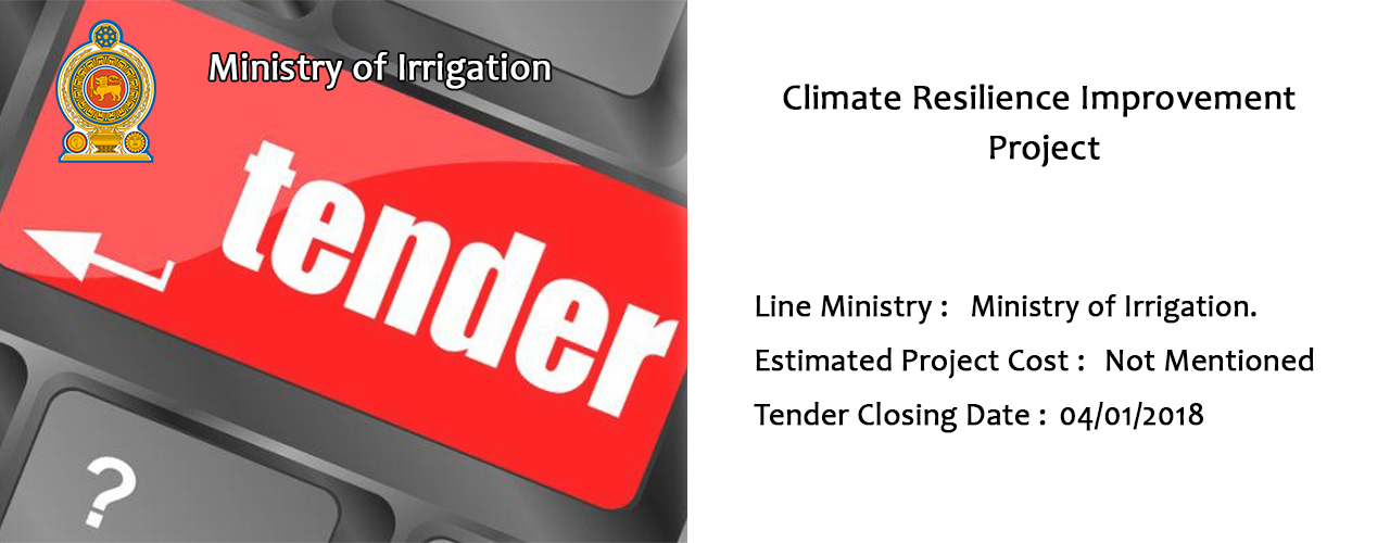 Climate Resilience Improvement Project