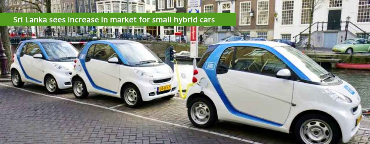 Sri Lanka sees increase in market for small hybrid cars