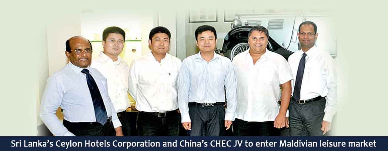 Sri Lanka's Ceylon Hotels Corporation and China's CHEC JV to enter Maldivian leisure market