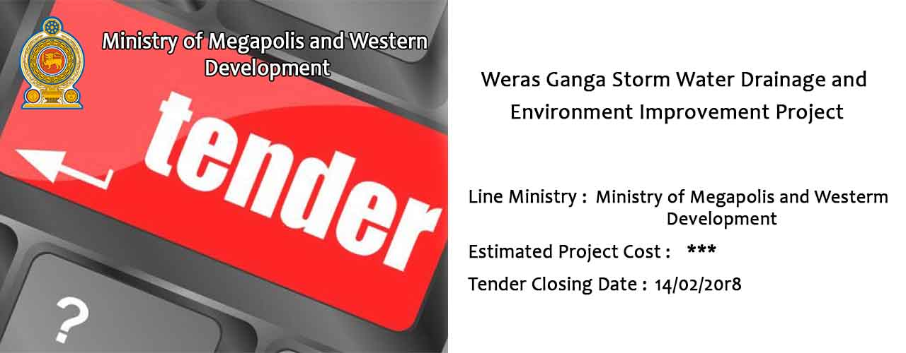 Weras Ganga Storm Water Drainage and Environment Improvement Project.
