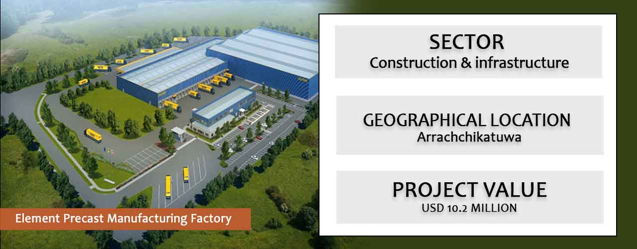 Element Precast Manufacturing Factory