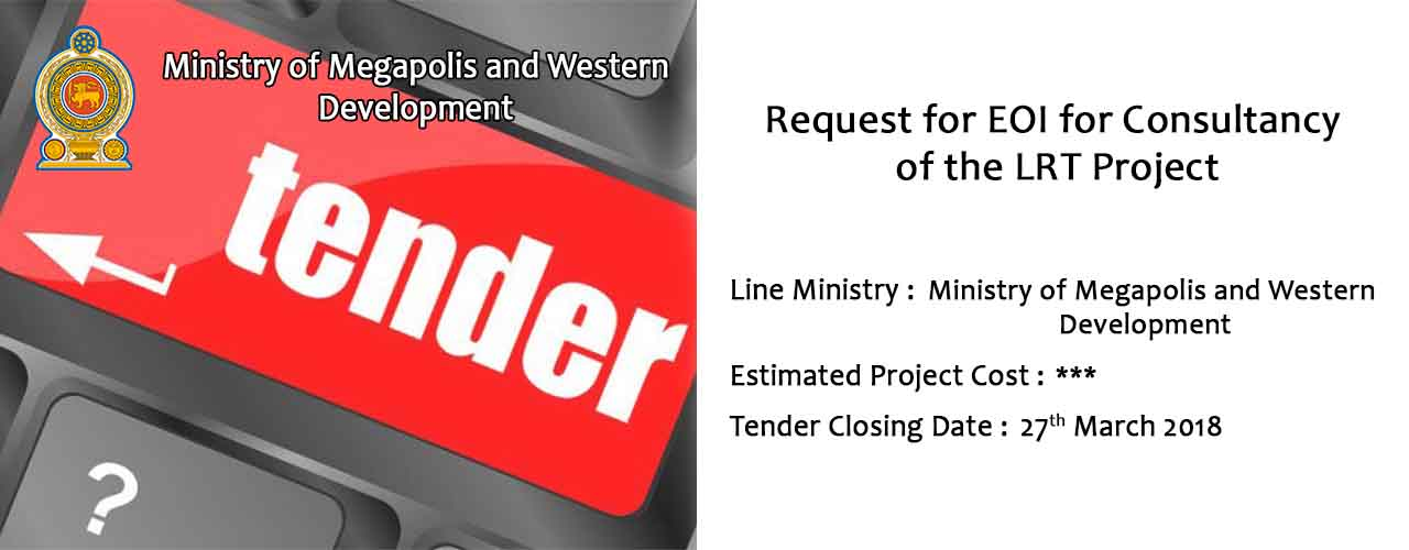 Request for EOI for Consultancy of the LRT Project