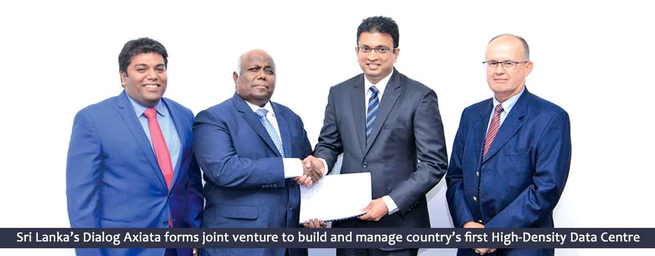 Sri Lanka's Dialog Axiata forms joint venture to build and manage country's first High-Density Data Center