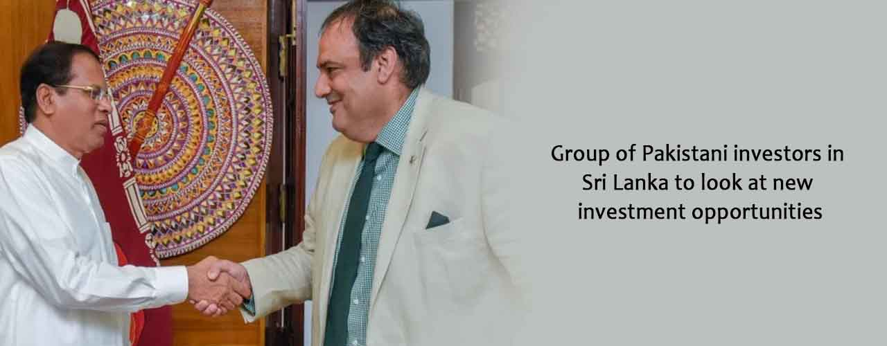 Group of Pakistani investors in Sri Lanka to look at new investment opportunities
