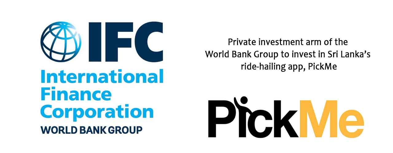 Private investment arm of the World Bank Group to invest in Sri Lanka's ride-hailing app, PickMe