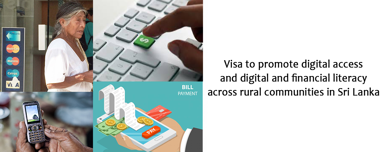 Visa to promote digital access and digital and financial literacy across rural communities in Sri Lanka