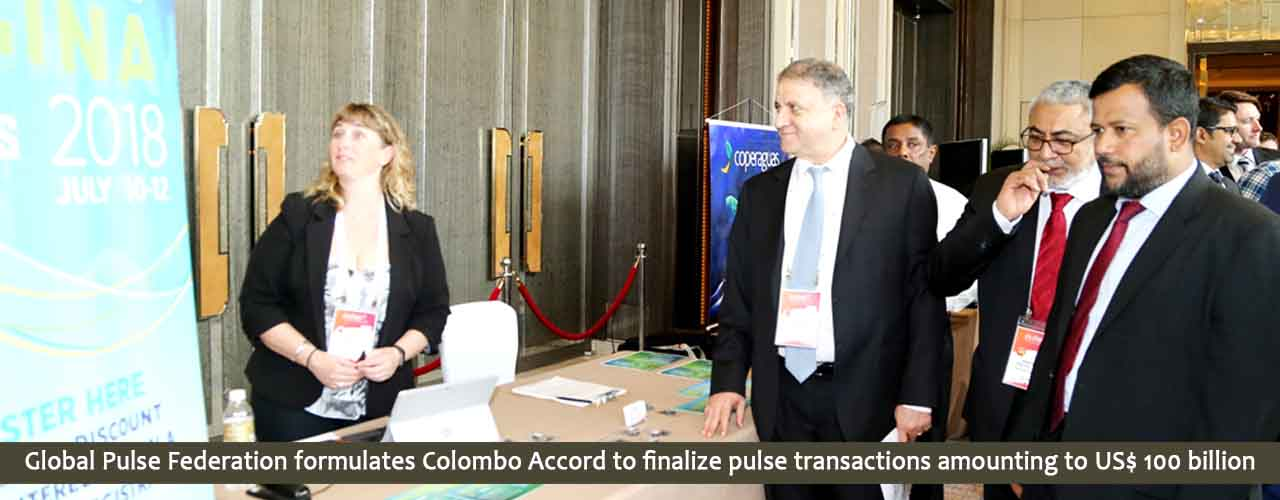Global Pulse Federation formulates Colombo Accord to finalize pulse transactions amounting to US$ 100 billion