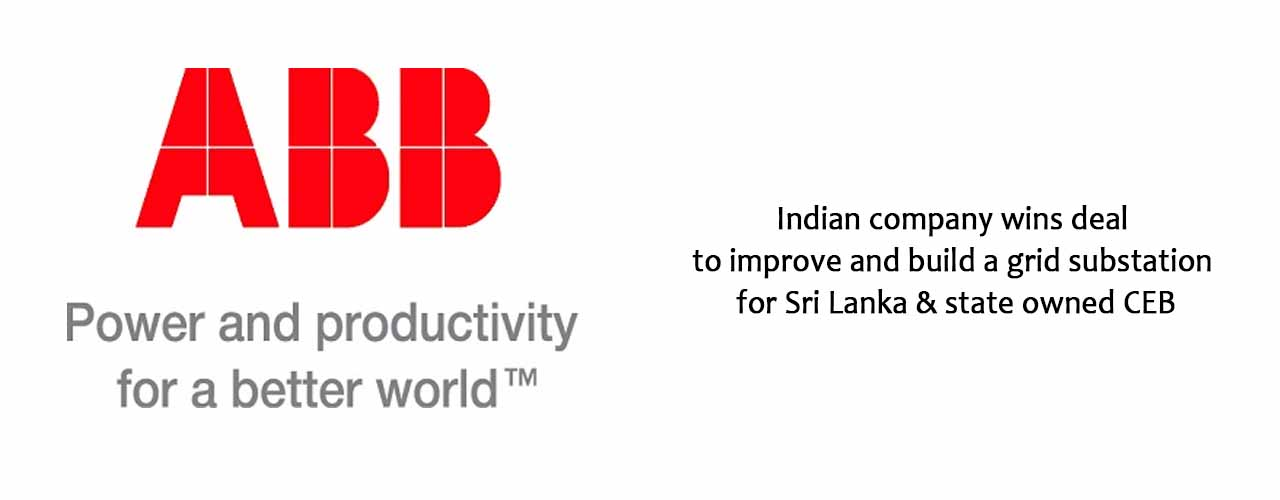Indian company wins deal to improve and build a grid substation for Sri Lanka's state owned CEB