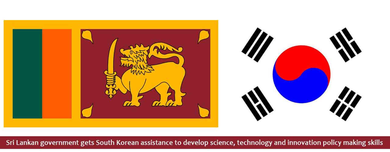 Sri Lankan government gets South Korean assistance to develop science, technology and innovation policy making skills