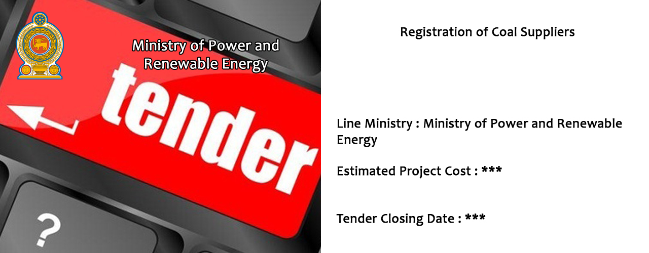 Registration of Coal Suppliers