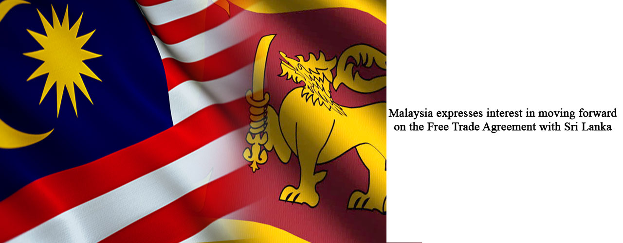 Malaysia Expresses Interest In Moving Forward On The Free Trade