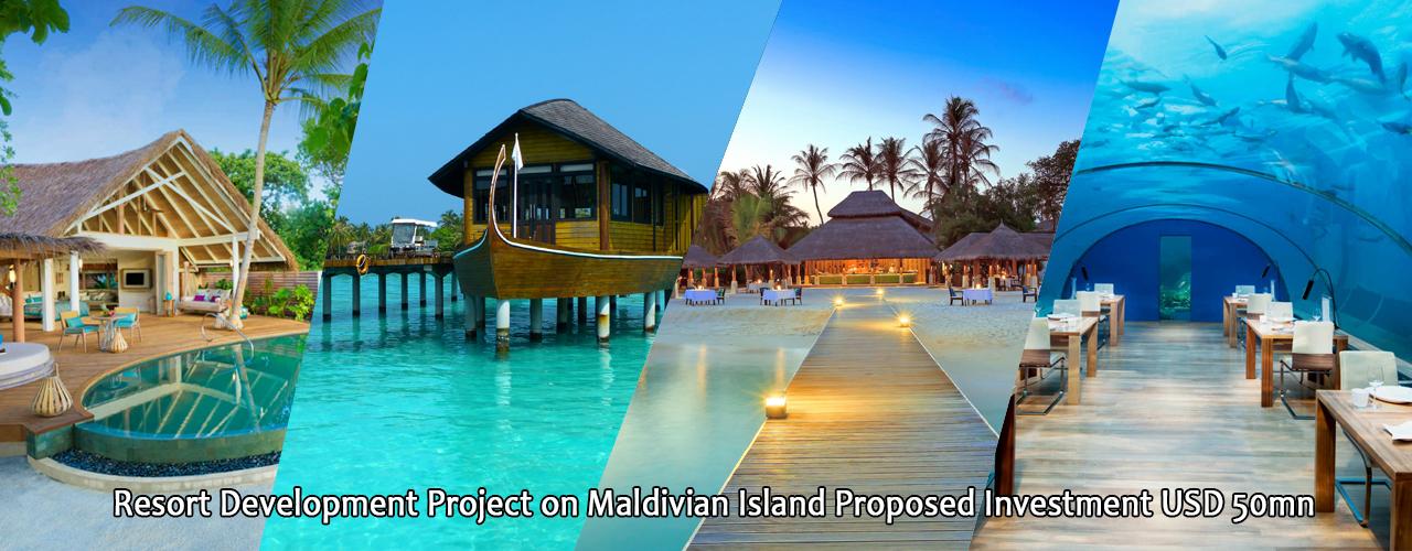 Resort Development Project on Maldivian Island  Proposed Investment USD 50mn