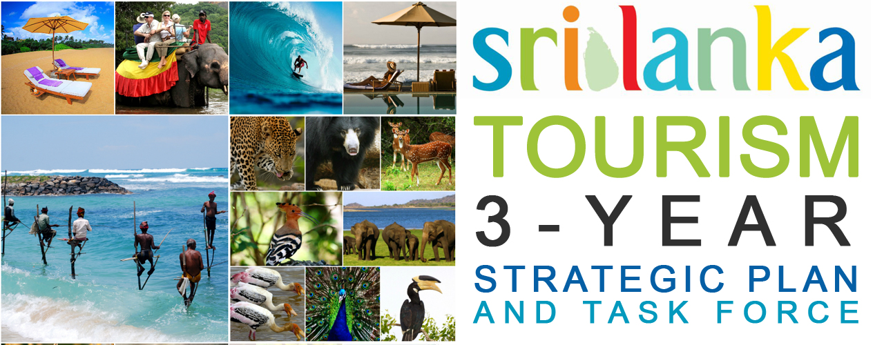 Sri Lanka Tourism 3-year strategic plan and Task force