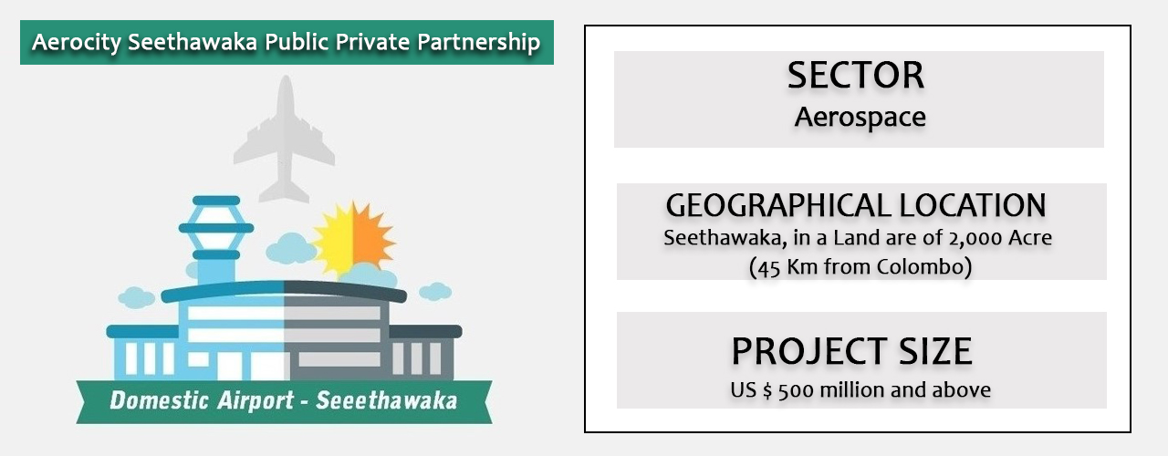 Aerocity  Seethawaka Public Private Partnership