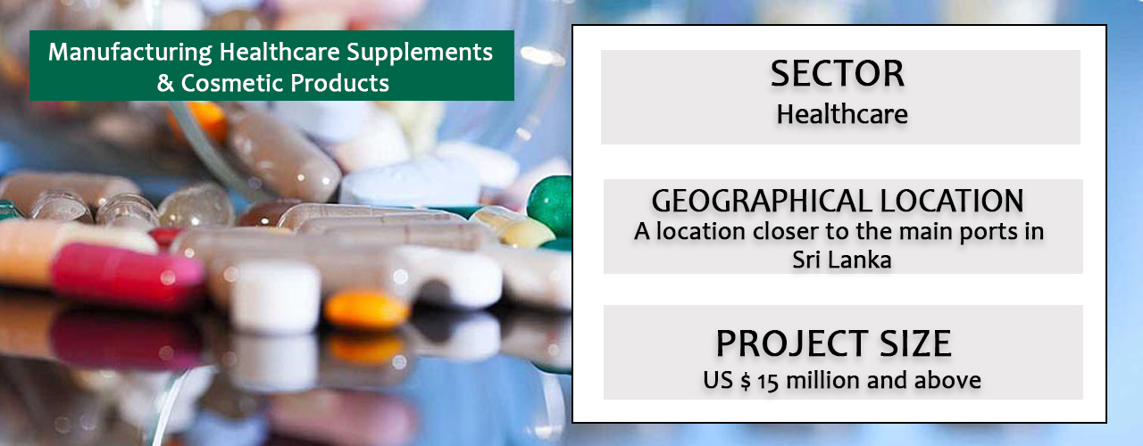 Manufacturing Healthcare Supplements & Cosmetic Products