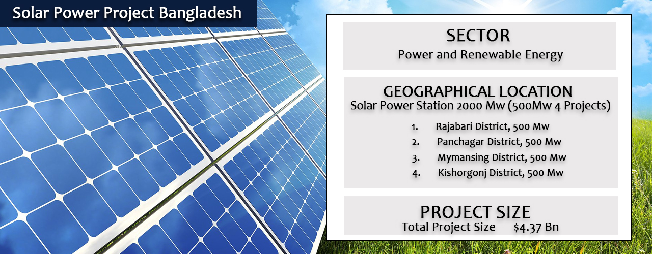 Solar Power Project Bangladesh