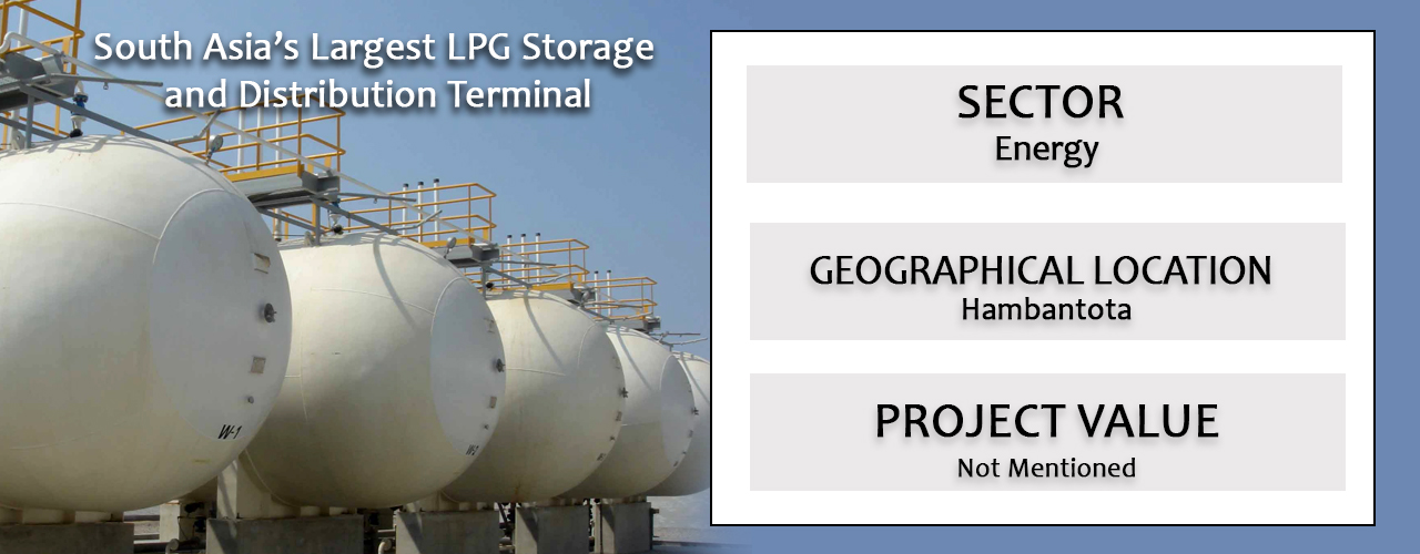 South Asia's Largest LPG Storage and Distribution Terminal