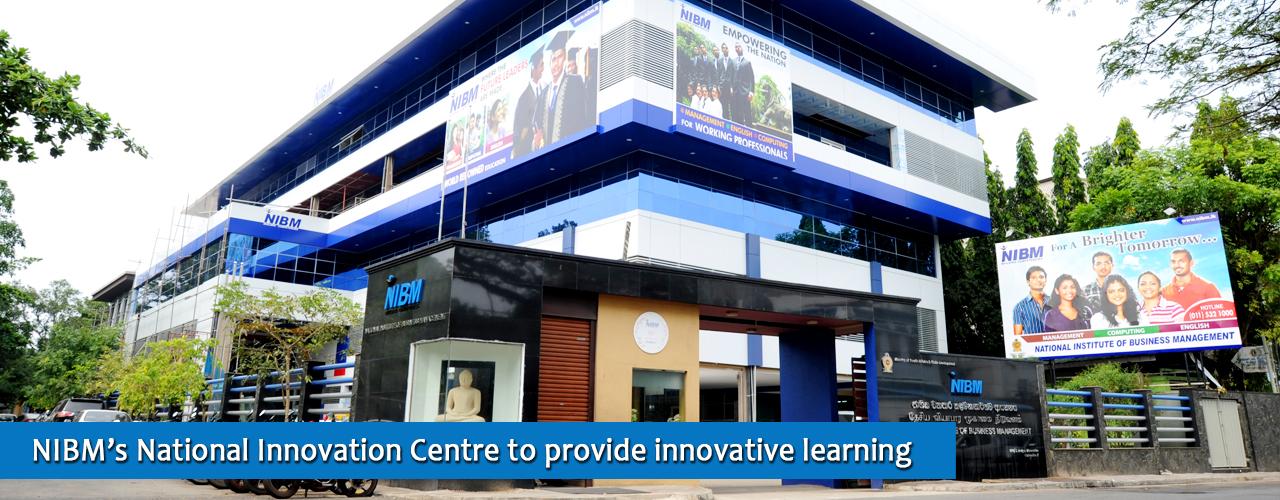 Nibm S National Innovation Centre To Provide Innovative Learning Opportunity Sri Lanka