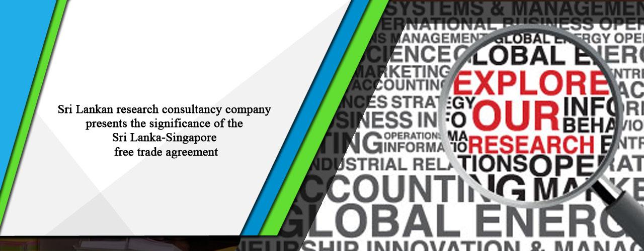 Sri Lankan Research Consultancy Company Presents The Significance Of