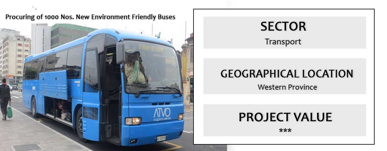 Procuring of 1000 Nos. New Environment Friendly Buses