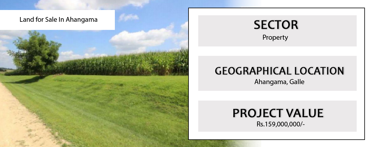 Land for sale in Ahangama, Galle