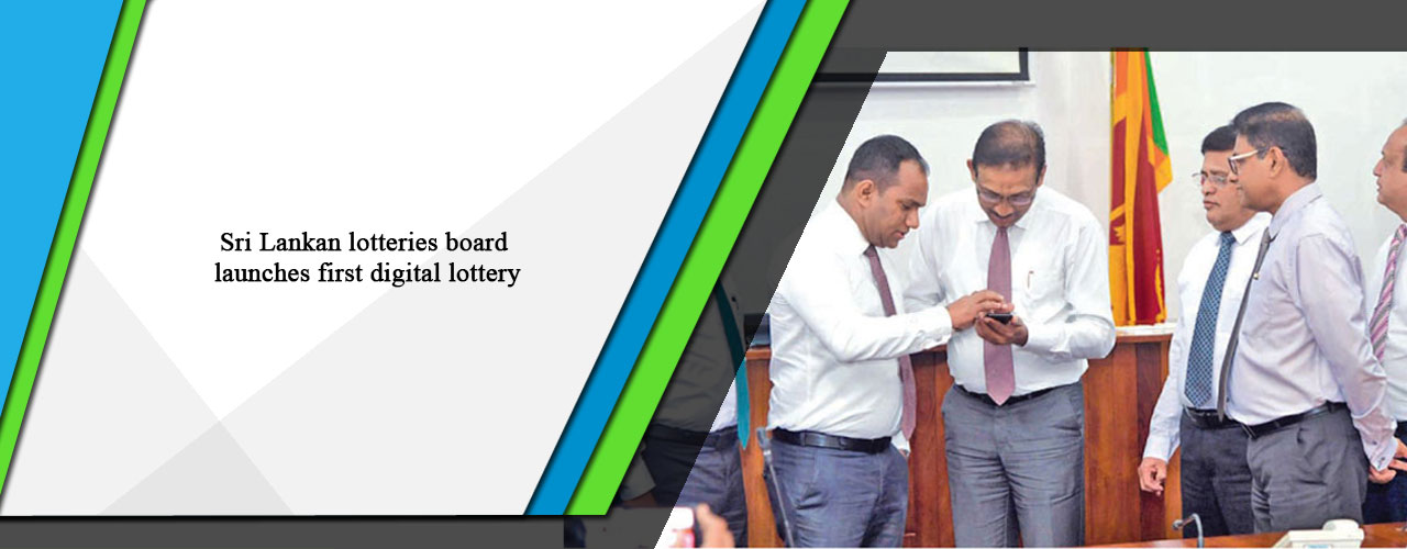 Sri Lankan lotteries board launches first digital lottery