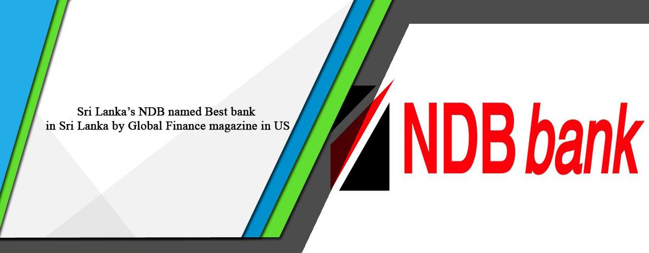 Sri Lanka's NDB named Best bank in Sri Lanka by Global Finance magazine in US