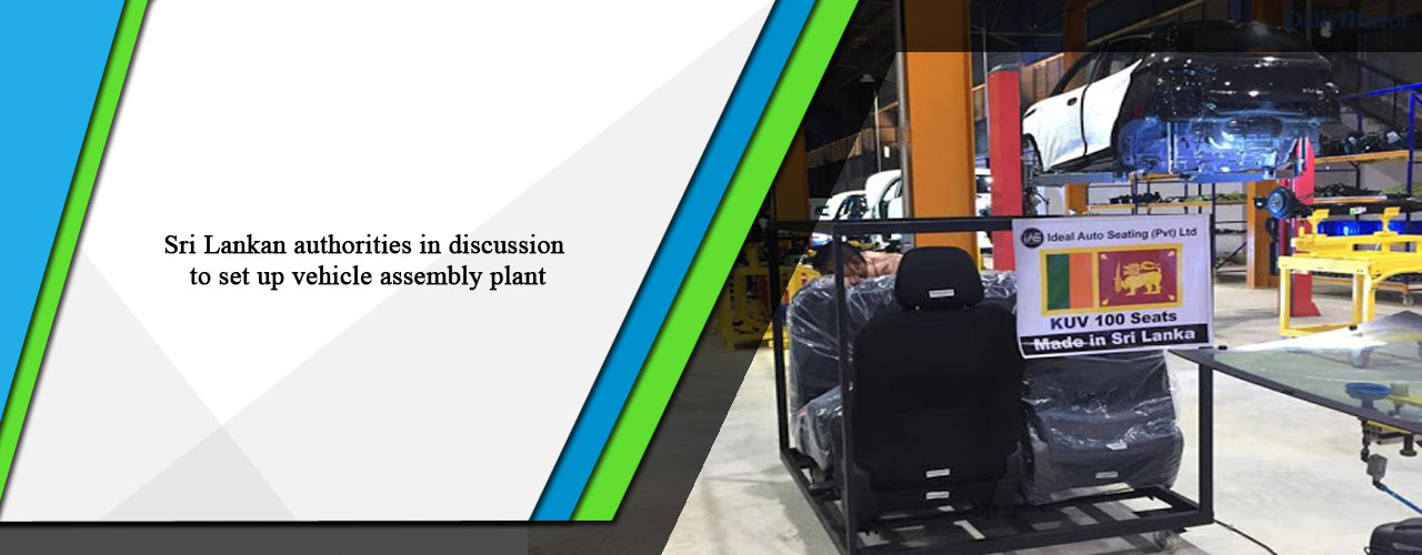 Sri Lankan authorities in discussion to set up vehicle assembly plant