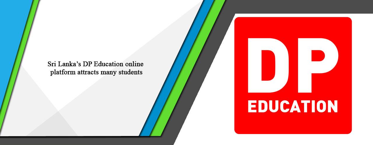 Sri Lanka's DP Education online platform attracts many students
