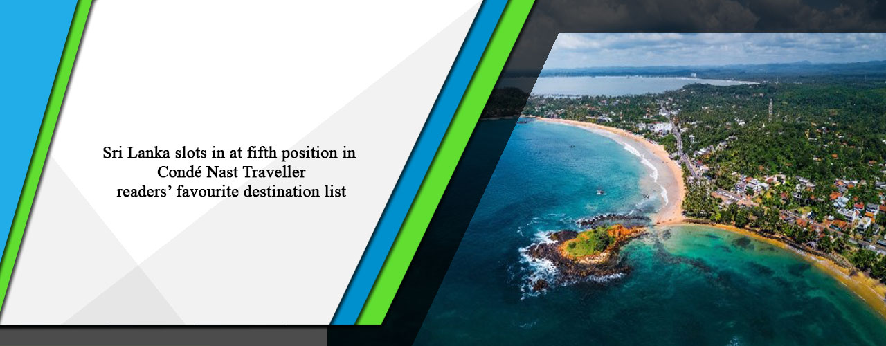 Sri Lanka slots in at fifth position in Condé Nast Traveller readers' favourite destination list