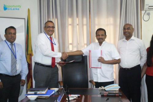 Agreement Signing with D.B. Gangoda Associates for the National Forensic Programme