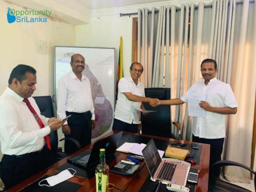 Agreement Signing with Serendib Capital Holdings (Pvt.) Ltd