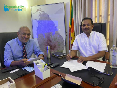 Agreement between CNTIC and Pacific Power Projects (Private) Limited