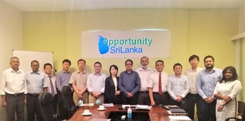 Chinese Delegation Visit With Sri Lanka-China Trade Council