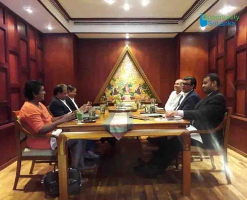 Maldivian Ambassador's Visit
